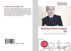 Bookcover of Pakistan Muslim League (Q)