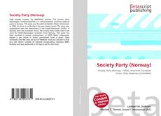 Bookcover of Society Party (Norway)