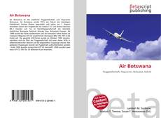 Bookcover of Air Botswana