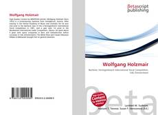 Buchcover von Wolfgang Holzmair