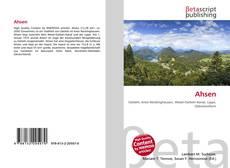Bookcover of Ahsen