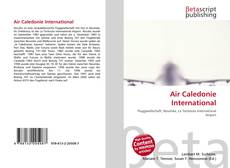 Copertina di Air Caledonie International