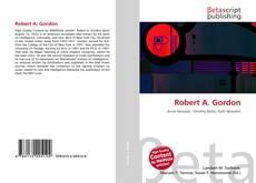 Обложка Robert A. Gordon