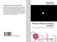 Capa do livro de Pakistan Remote Sensing Satellite