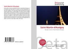 Portada del libro de Saint-Martin-d'Auxigny