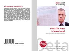 Buchcover von Pakistan Press International