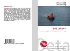 Portada del libro de USS LST-547