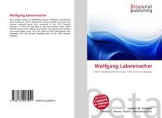 Buchcover von Wolfgang Lakenmacher