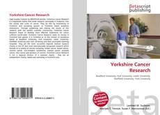 Yorkshire Cancer Research的封面