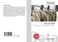 Portada del libro de USS LST-558
