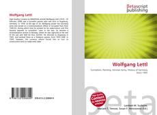 Buchcover von Wolfgang Lettl