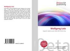 Buchcover von Wolfgang Lotz