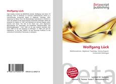 Buchcover von Wolfgang Lück