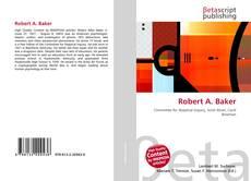 Обложка Robert A. Baker