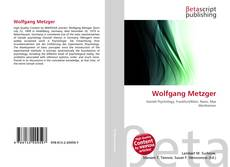 Bookcover of Wolfgang Metzger