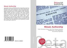 Bookcover of Mosaic Authorship