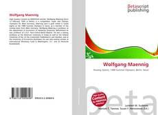 Couverture de Wolfgang Maennig