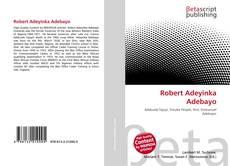 Bookcover of Robert Adeyinka Adebayo