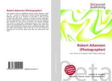 Robert Adamson (Photographer)的封面