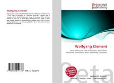Bookcover of Wolfgang Clement