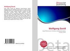 Copertina di Wolfgang David