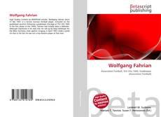 Buchcover von Wolfgang Fahrian
