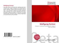 Buchcover von Wolfgang Fortner