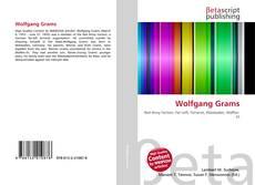 Buchcover von Wolfgang Grams