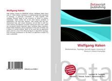 Buchcover von Wolfgang Haken
