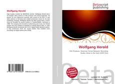 Buchcover von Wolfgang Herold