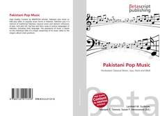 Capa do livro de Pakistani Pop Music