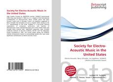 Portada del libro de Society for Electro-Acoustic Music in the United States