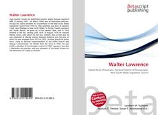 Bookcover of Walter Lawrence