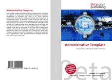 Bookcover of Administrative Template