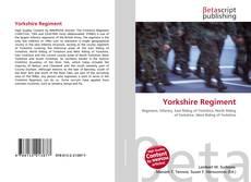 Couverture de Yorkshire Regiment