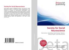 Bookcover of Society for Social Neuroscience