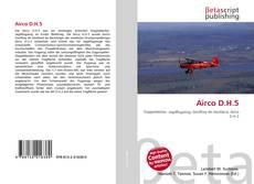Borítókép a  Airco D.H.5 - hoz