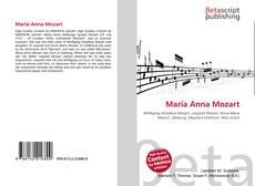 Bookcover of Maria Anna Mozart