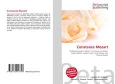 Bookcover of Constanze Mozart