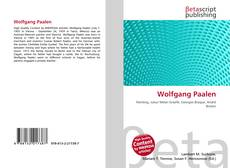 Bookcover of Wolfgang Paalen