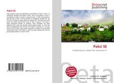 Bookcover of Paksi SE