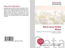 Maria Anna Thekla Mozar的封面