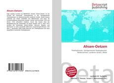 Bookcover of Ahsen-Oetzen