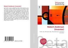 Capa do livro de Robert Anderson (Inventor)