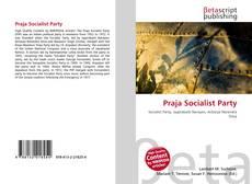 Bookcover of Praja Socialist Party