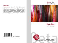 Bookcover of Rhipsime