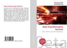 Capa do livro de Data Transformation Services
