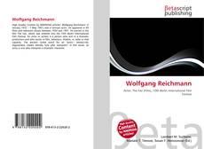 Capa do livro de Wolfgang Reichmann