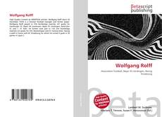 Bookcover of Wolfgang Rolff
