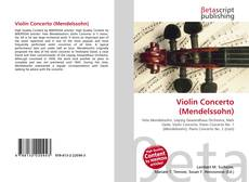 Bookcover of Violin Concerto (Mendelssohn)